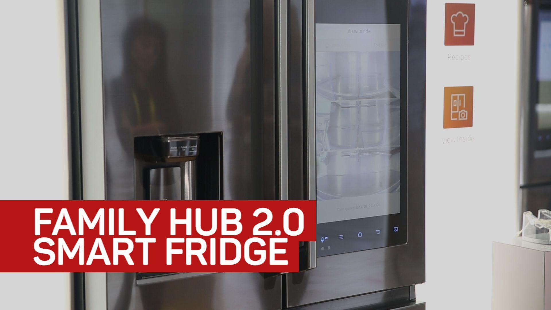 samsung upgrades family hub 2 0 smart fridge haystack tv. Black Bedroom Furniture Sets. Home Design Ideas